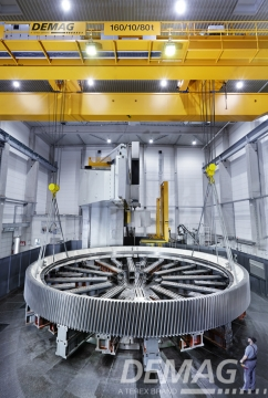 大型机械加工双梁桥式起重机