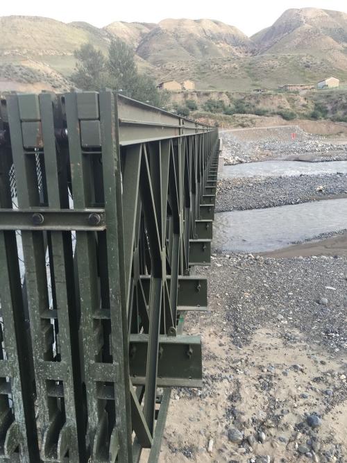 库尔勒军工钢便桥