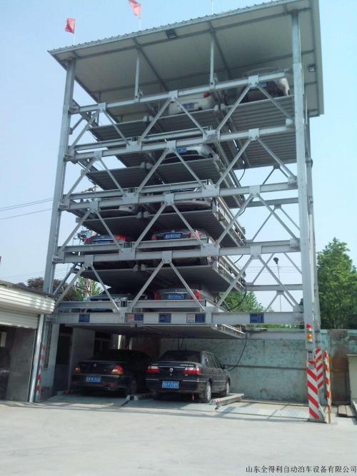 库尔勒六层升降横移立体车库